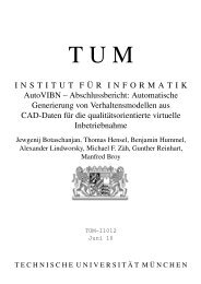 AutoVIBN - Abschlussbericht - Software and Systems Engineering ...