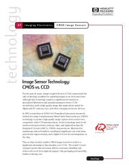 Image Sensor Technology: CMOS vs. CCD