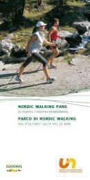 Nordic Walking Park Ultental-Deutschnonsberg.
