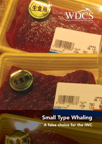 Small Type Whaling - Whale and Dolphin Conservation Society