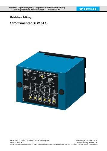 Stromwächter STW 61 S - ziehl.de