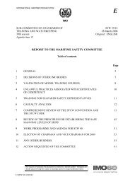 report to the maritime safety committee - U.S. Coast Guard