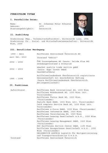 Lebenslauf Peter Gföller Dr Geburtsdatum Sportsclinic Austria