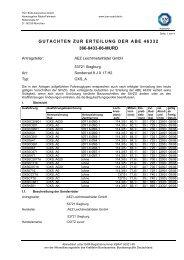 gutachten zur erteilung der abe 46332 366-0433-06-murd