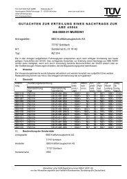 gutachten zur erteilung eines nachtrags zur abe 45044 366-0580-01 ...