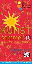 kunst sommer 10 - Kunstschule Offenburg