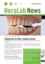 HeraLab News 01/2012 - Heraeus Dental