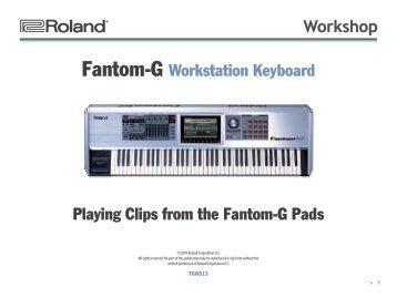 Roland fantom x6 инструкция на русском