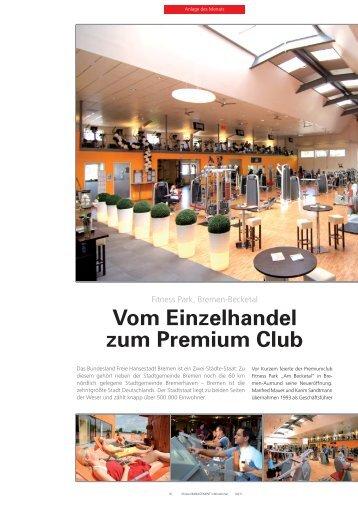 Vom Einzelhandel zum Premium Club - Fitness Parks