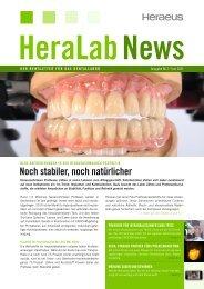 HeraLab News 02/2011 - Heraeus Dental