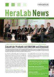 HeraLab News - Heraeus Dental