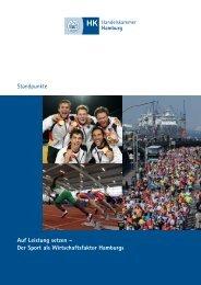Standpunkte Sportstadt Hamburg.qxp - Handelskammer Hamburg