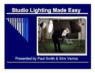 Studio Lighting Made Easy.pdf - Stony Brook Camera Club