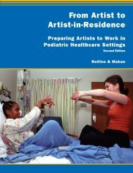From Artist to Artist-in-Residence: Preparing Artists - Judy Rollins