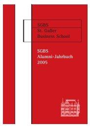 Download PDF-Version Alumni-Jahrbuch 2005 - St. Galler Business ...