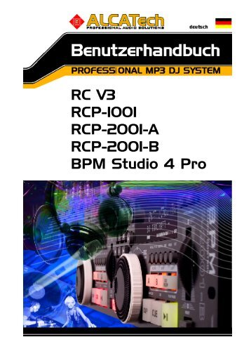 RC V3 RCP-1001 RCP-2001-A RCP - BPM Studio - BPM Jukebox