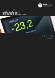 AC-R128 - Audiocation Audio Akademie