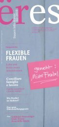 FLEXIBLE FRAUEN - Donne & Lavoro