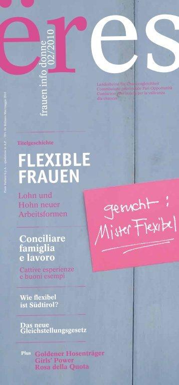 FLEXIBLE FRAUEN - Donne & Lavoro
