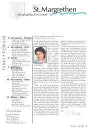 192-Mitteilungsblatt-05-08 [PDF, 7.33 MB] - St. Margrethen