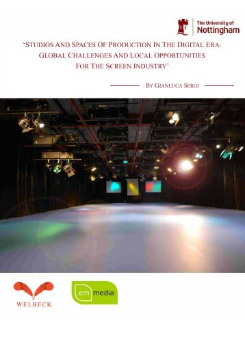 studios and spaces of production in the digital - University of ...