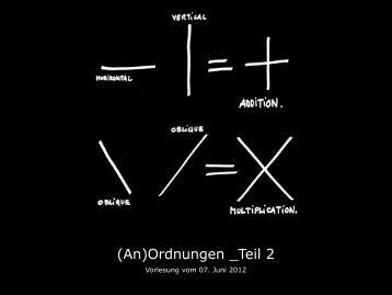 (An)Ordnungen _Teil 2