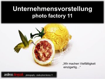 Unternehmensvorstellung photo factory 11 - DTO Research