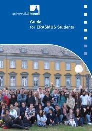 Guide for ERASMUS Students - Bad Request - Universität Bonn