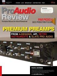 PREmIum PREAmPS - Slate Pro Audio