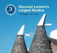 Discover London's Largest Studios - 3Mills - 3 Mills Studios