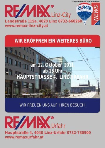 Tel. +43-732-660 260 www.remax-linz-city.at