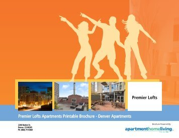 Premier Lofts Apartments Printable Brochure - Apartments For Rent