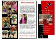 Julie's Touch of Silver Dance Studio - Julies Touch of Silver