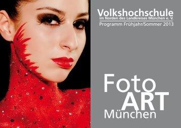 Foto ART - Volkshochschule im Norden des Landkreises München