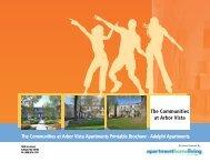 The Communities at Arbor Vista Apartments Printable Brochure ...