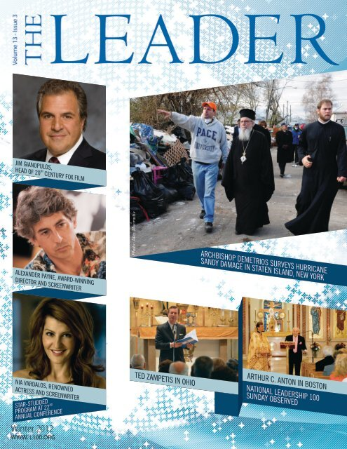 volume xiii, issue 3 - winter 2012 - Leadership 100