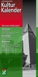 Kulturkalender Marzahn-Hellersdorf