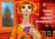 features shorts animation documentaries 2009