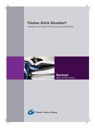 Fliedner Klinik Düsseldorf Burnout - Theodor Fliedner Stiftung