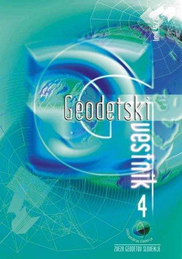 4 - Geodetski vestnik