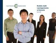 Kodeks etyki i postępowania w biznesie - Flextronics