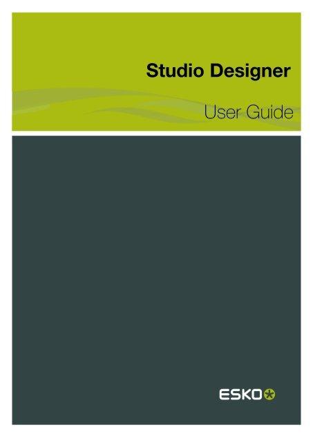 Studio Designer User Guide - Esko Help Center