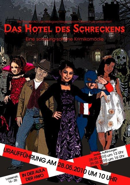Das Hotel des Schreckens - hildegard-wegscheider-oberschule berlin