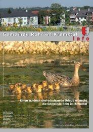 ÄRZTENOTRUF - Rohr im Kremstal - Land Oberösterreich