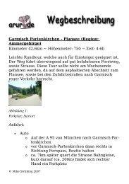 Garmisch Partenkirchen - Plansee (Region: Ammergebirge ... - Arur.de