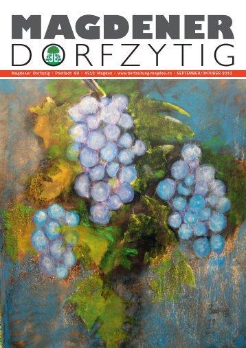 Ausgabe 4/2012 - Magdener Dorfzytig