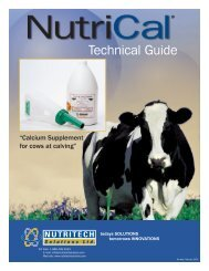Technical Guide - Nutritech Solutions Ltd.