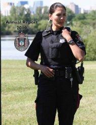 Annual Report 2010 - Regina Police Service