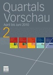 April bis Juni 2010 - Springer Fachmedien WIesbaden GmbH