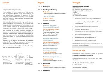 Flyer Einladung Radolfzell - Der Schlaganfall-Blog